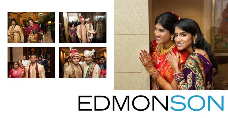 Hilton Anatole Dalals Indian Wedding Entrance