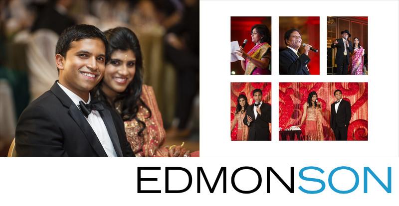 Hilton Anatole Indian Wedding Reception Toasts