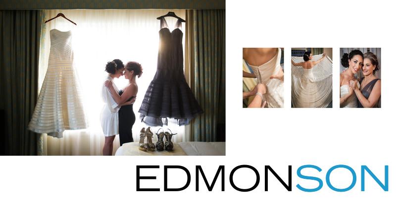 Jewish Mother & Bride Before Ritz Dallas Wedding
