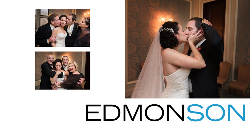 Hugs & Kisses After Dallas Jewish Wedding