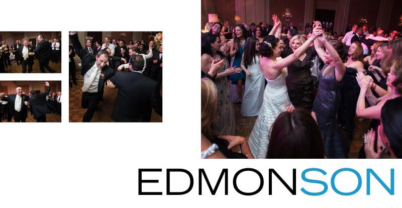 Jewish Wedding Hora At Ritz Dallas Reception