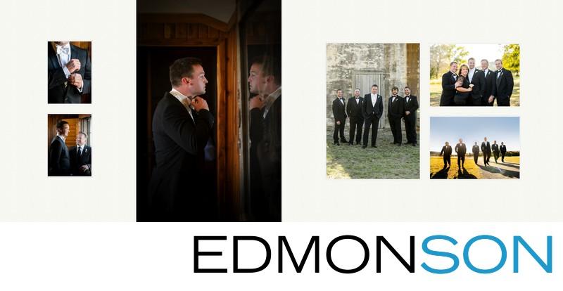 Groom Portraits At Rough Creek Wedding
