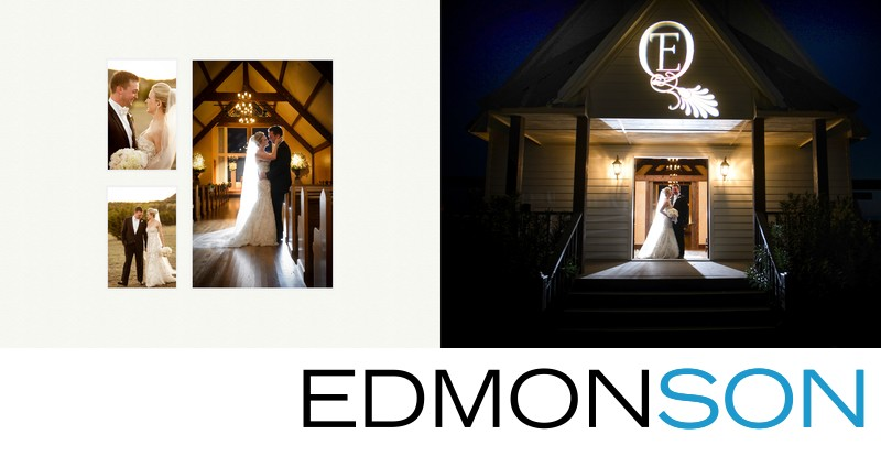 Rough Creek Wedding Chapel At Night