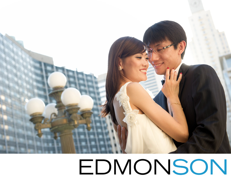 Chinese Pre-Wedding Session In Downtown Dallas.