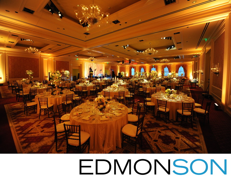 Ritz-Carlton DFW Events Wedding Reception Decor