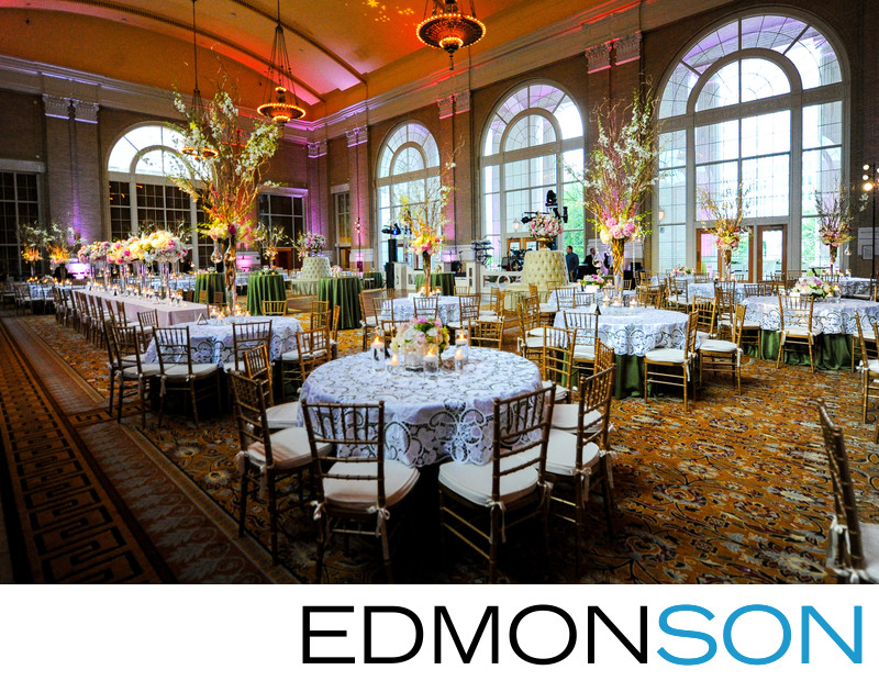 Union Station Wedding Reception DFW Events