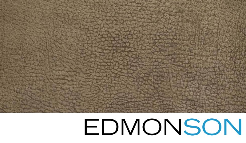 Sandstone Contemporary Leather Cover Swatch Detail