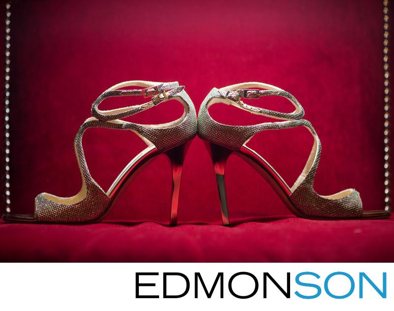Jimmy Choo Champagne Shoes