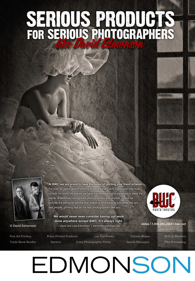 BWC Photo Lab Full Page Ad With David Edmonson
