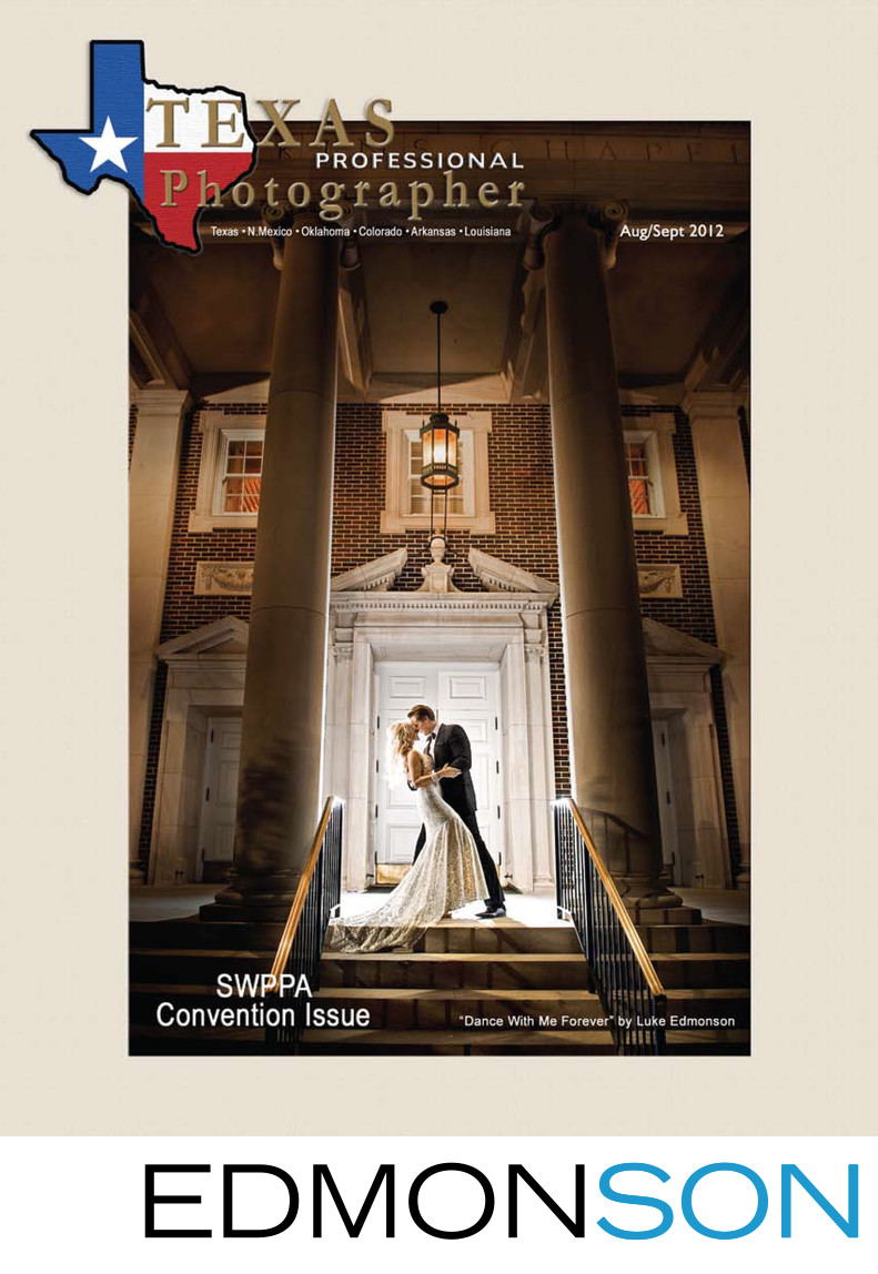 Texas Professional Photographer Magazine August 2012