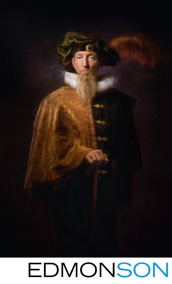 Rembrandt Inspired Photographer Recreates Classic Photo