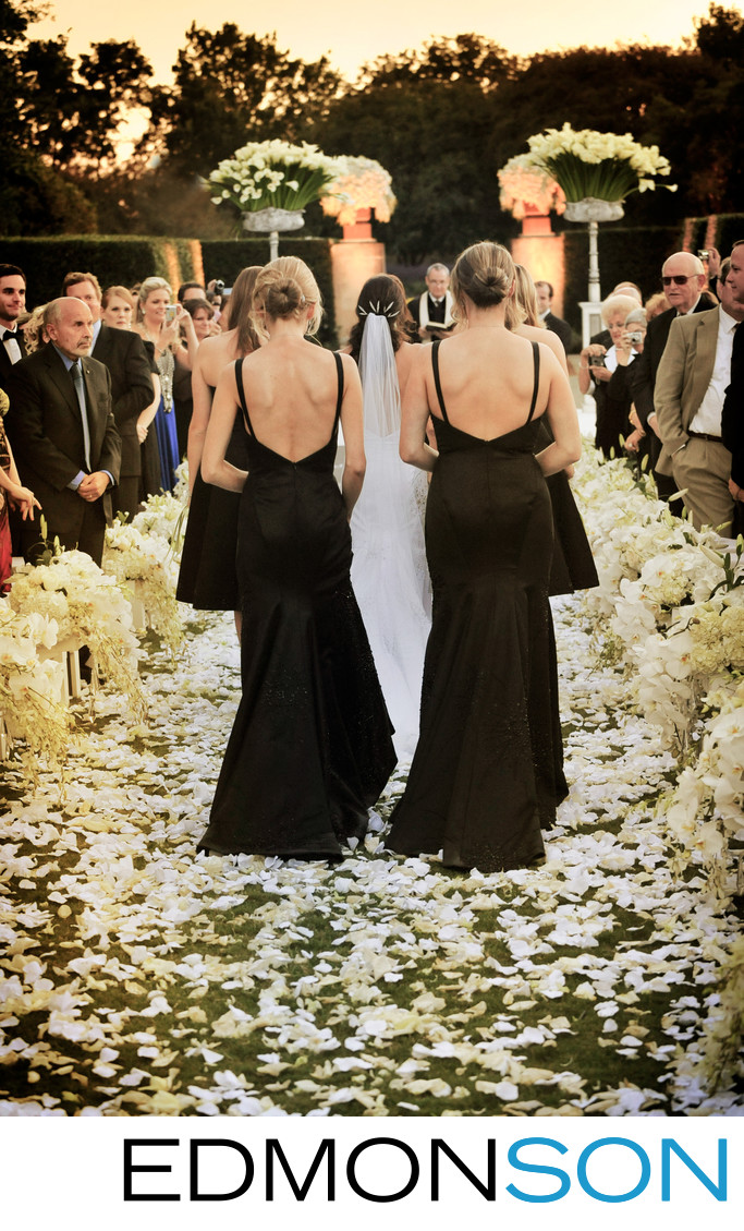 Dallas Arboretum Epic Garden Wedding Is Bride's Dream