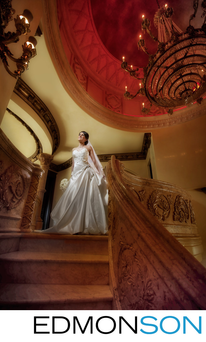 Lavish Bridal Portrait For Persian Wedding