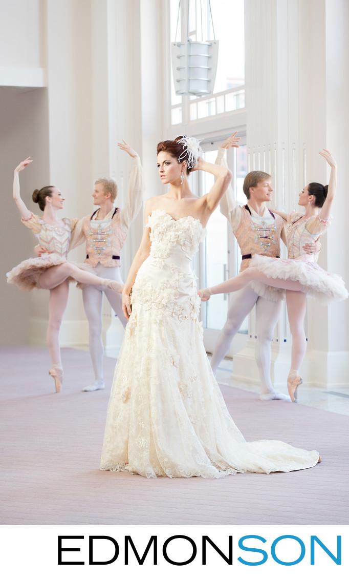 Wedding Dress Feature Ballet Editorial