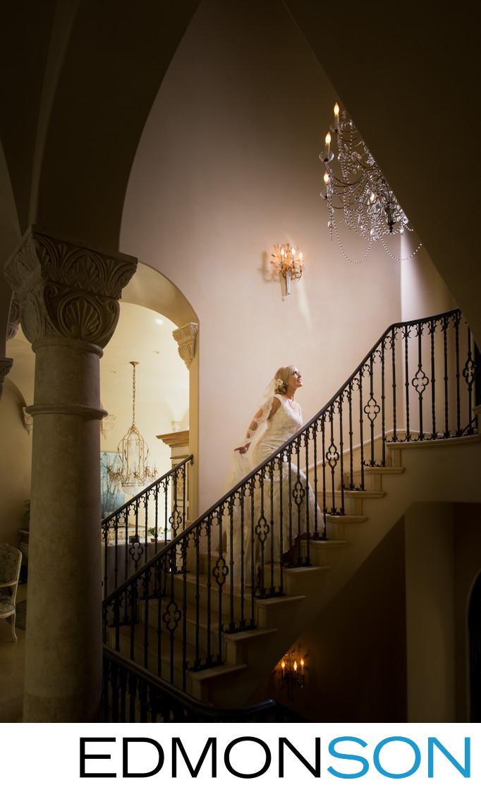Gorgeous Highland Park Estate Wedding Photo