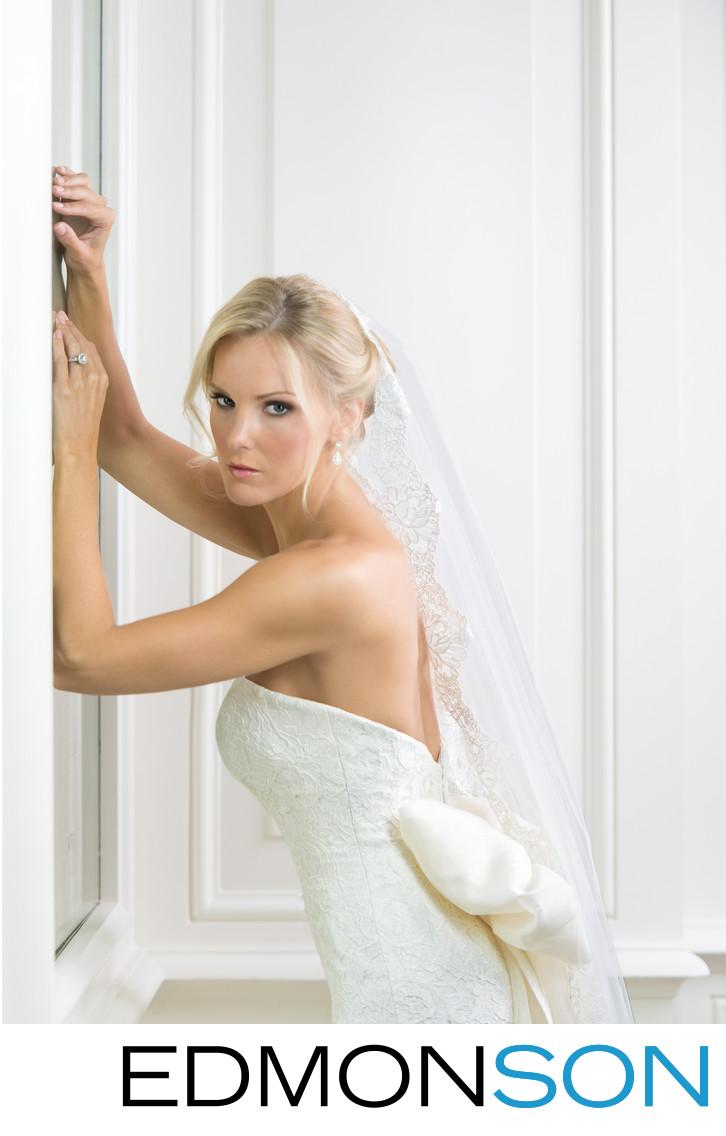 Elegant Bridal Portrait At Rosewood Crescent