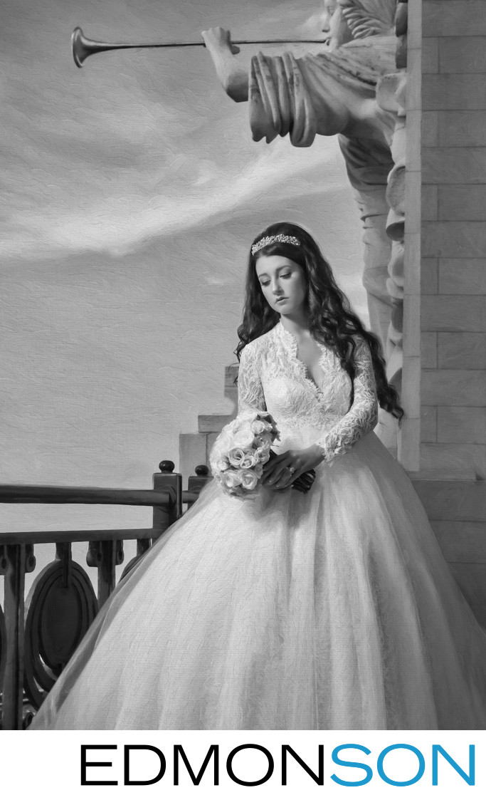 Downtown Bridal Portrait In Ft. Worth, TX