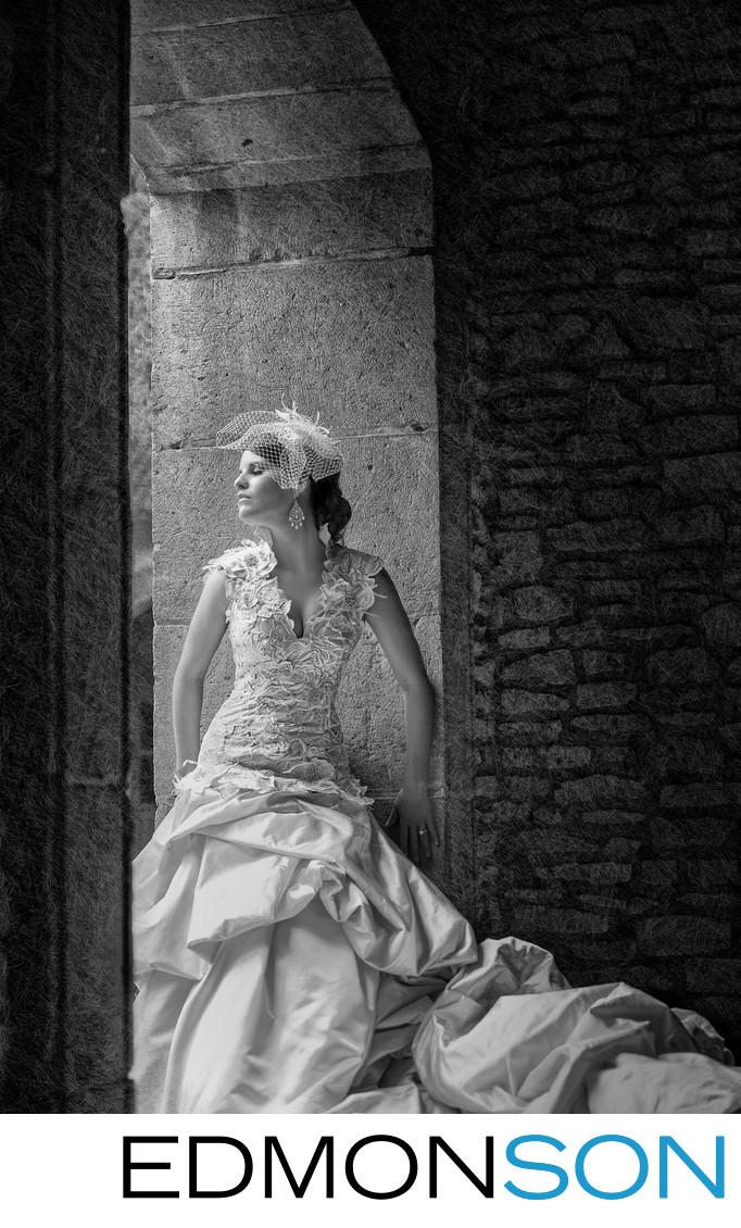Bridal Portrait At Canals At Las Colinas