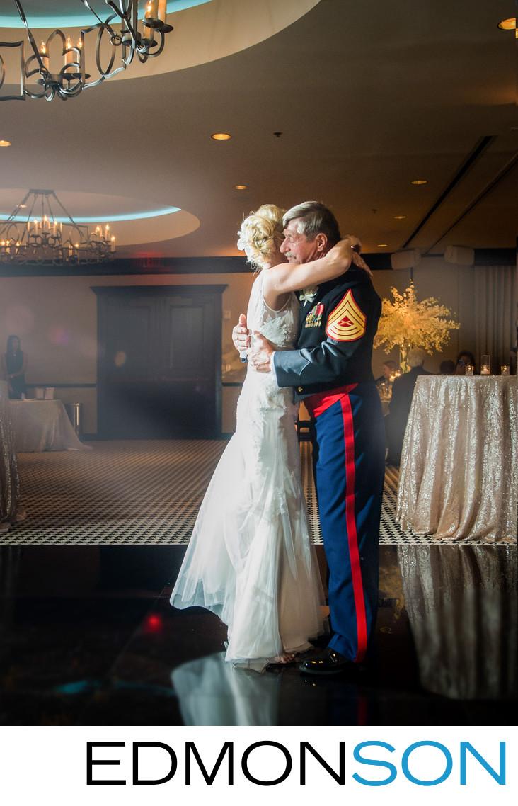 Military Father Daughter Dance At ZaZa Dallas