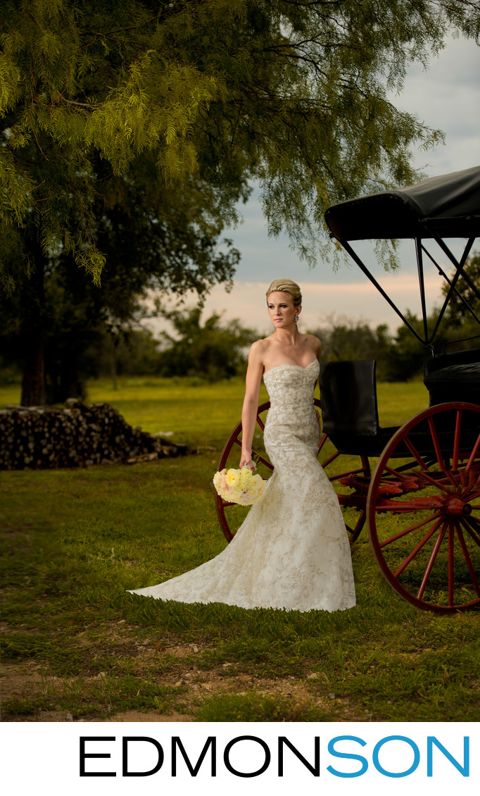 DFW Rustic Outdoor Bridal Portrait Sizzles
