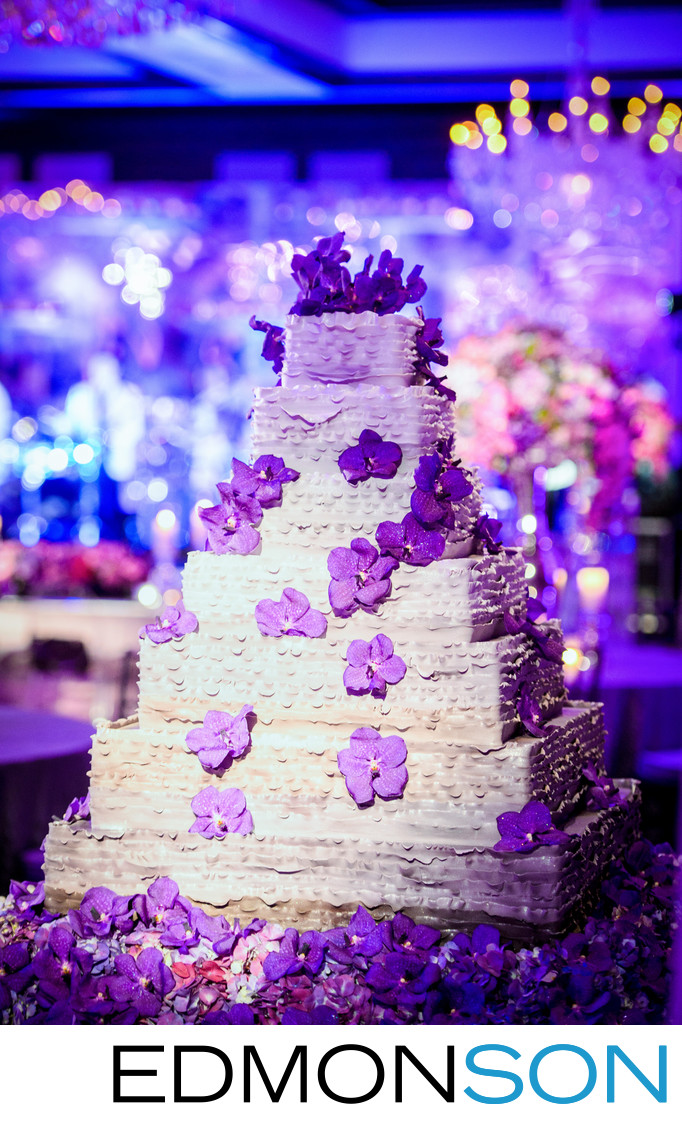 Stunning Dallas Country Club Wedding Cake - DFW Events