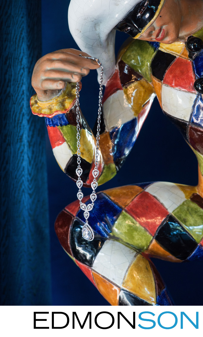 Huge Diamond Necklace Held For Ransom By Wedding Jester