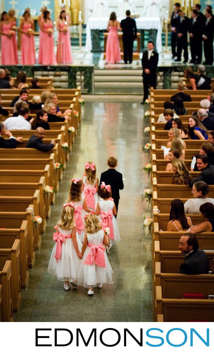 Wedding At St. Michael All Angels Church
