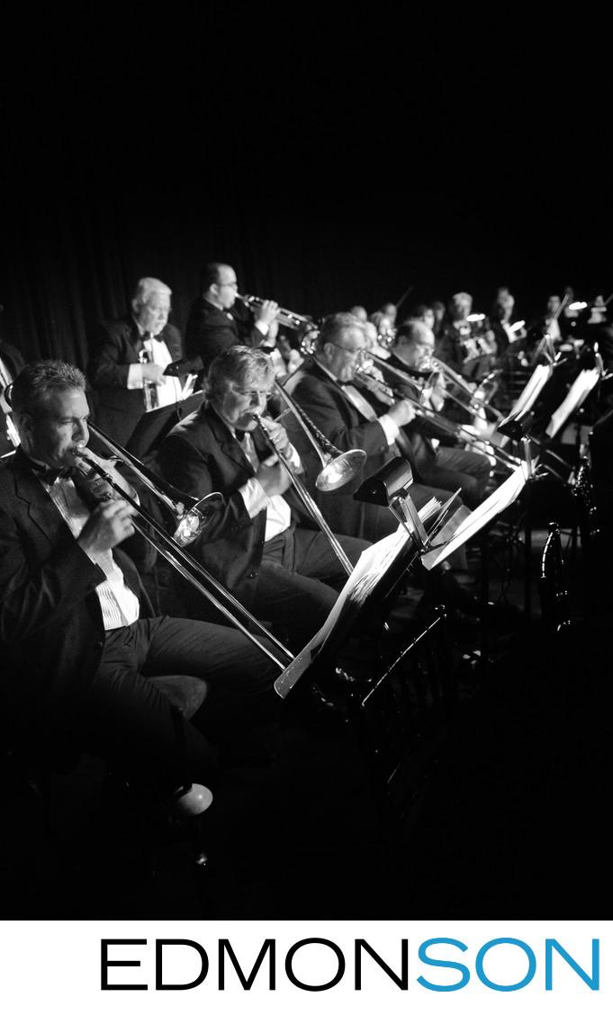 Luxury Wedding Reception Dallas Symphony Performs