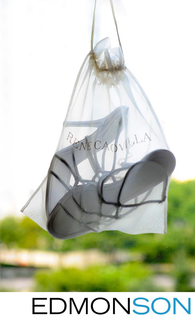 Rene Caovilla Wedding Shoes Ritz Carlton Dallas