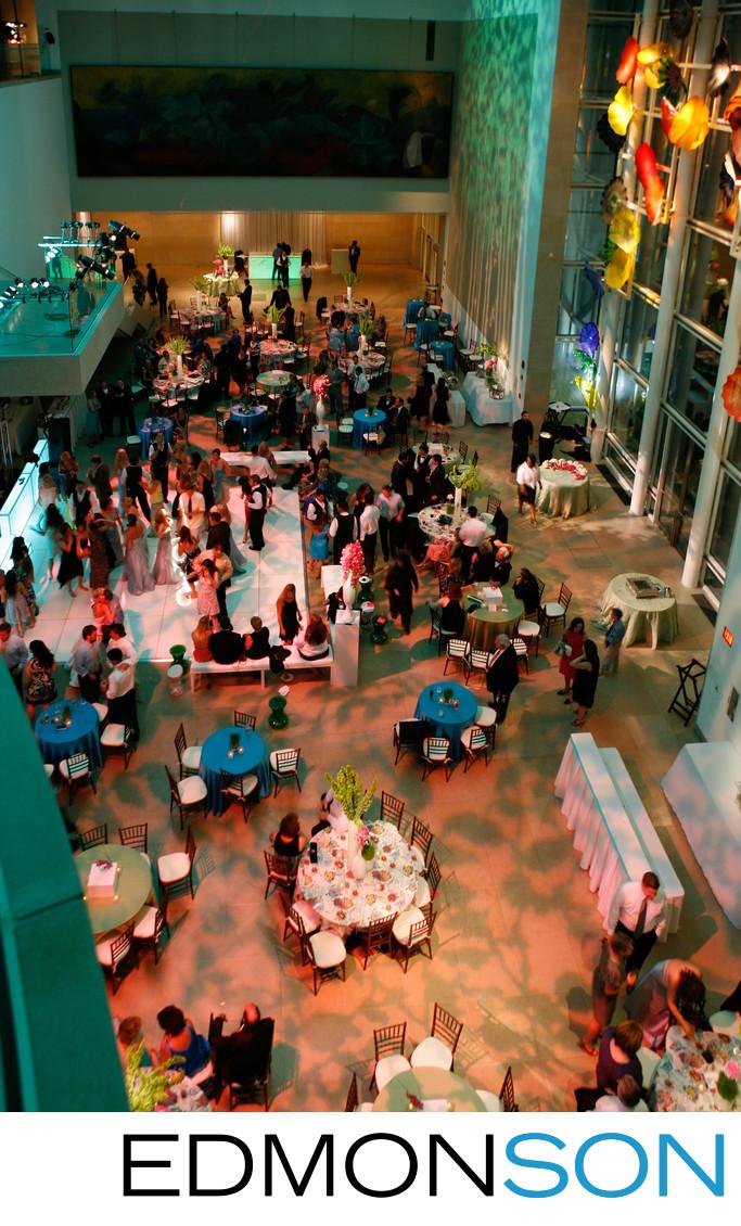 Dallas Museum of Art (DMA) Wedding Reception