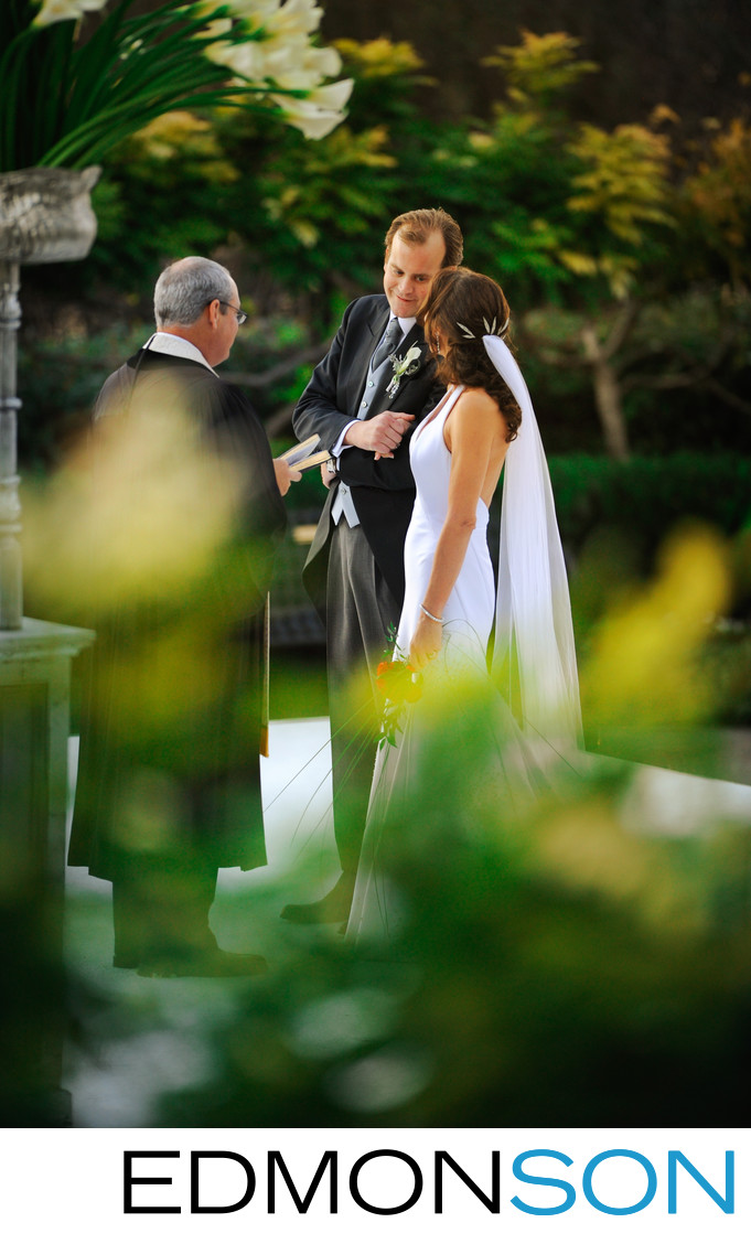 Dallas Aboretum Outdoor Wedding In Garden