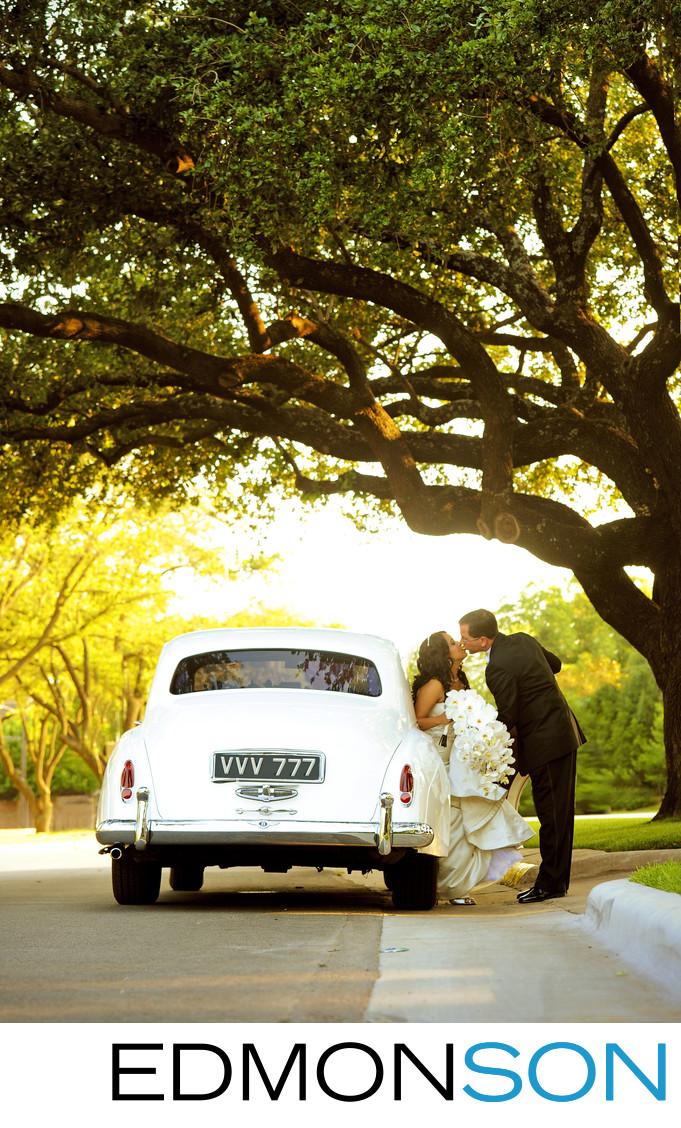 Blue Diamond Limos Rolls-Royce Dallas Weddings