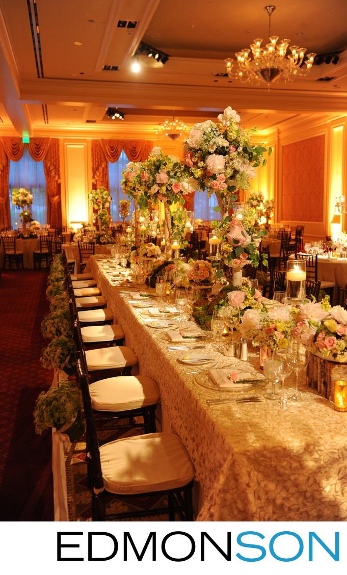 DFW Events Dallas Wedding Reception At Ritz