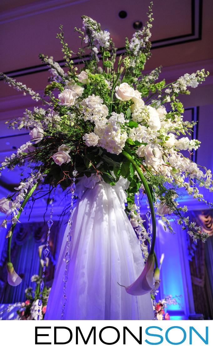 Massive Floral Spray At Ritz-Carlton, Dallas Wedding