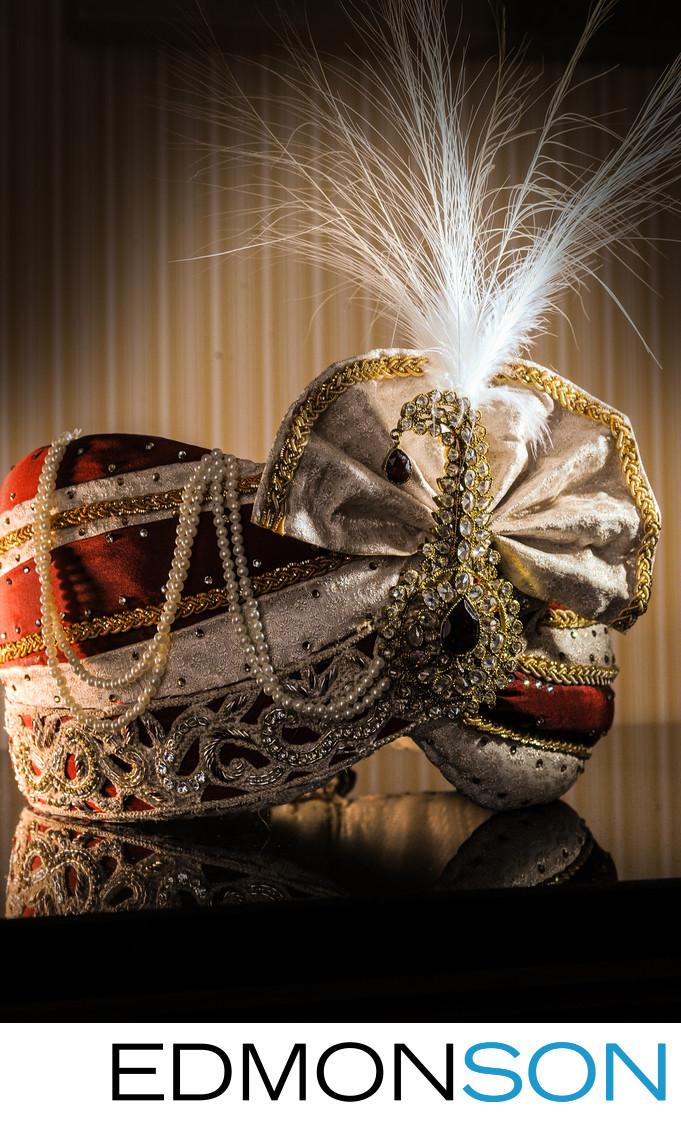 Indian Wedding Head Turban At Ritz-Carlton, Dallas