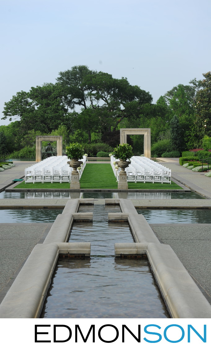 Dallas Arboretum and Botanical Garden Weddings