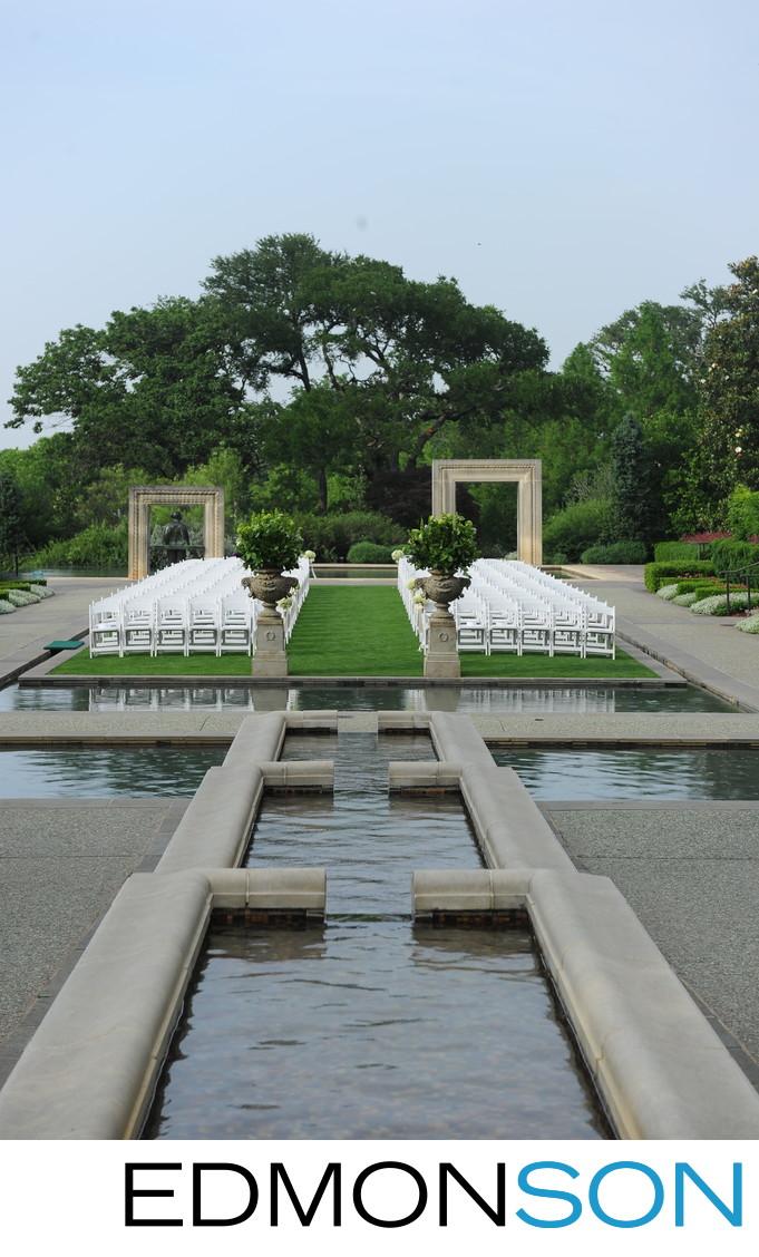 Dallas Arboretum and Botanical Garden Weddings