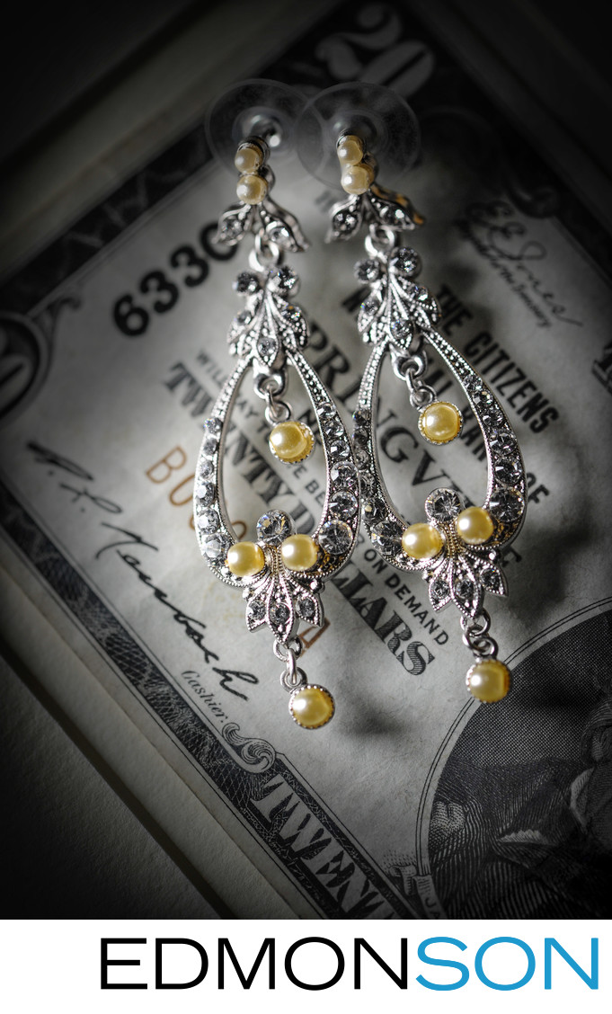 Jewelry Detail For DFW Events Wedding In Preston Hollow