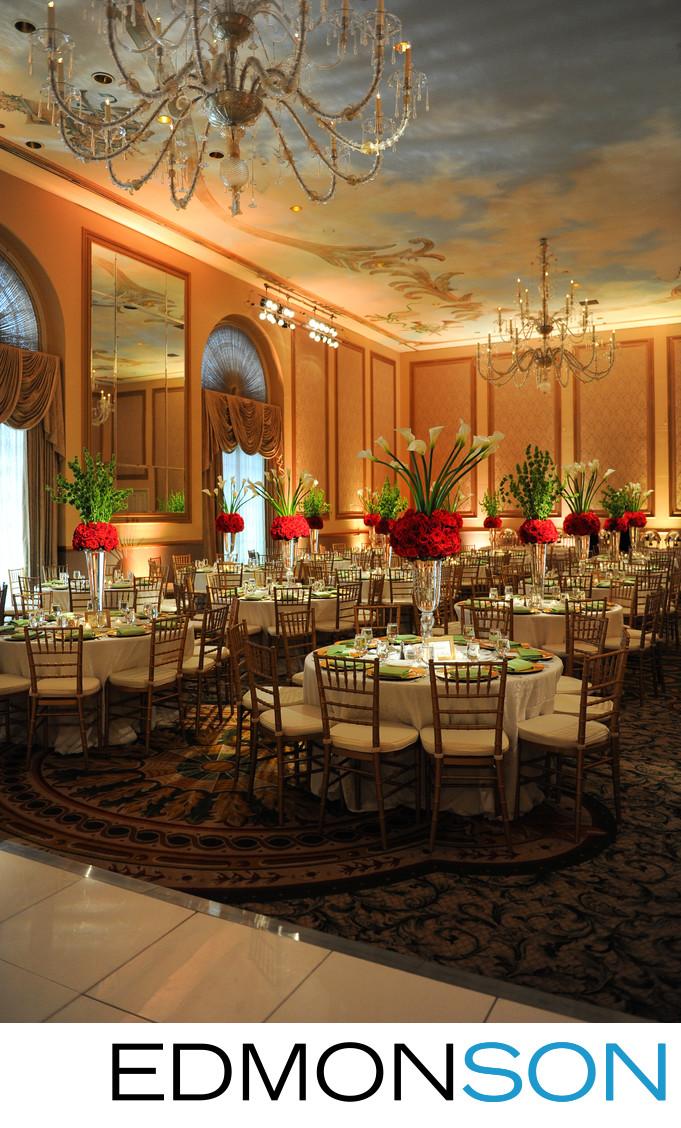 Adolphus Hotel Reception For DFW Bride