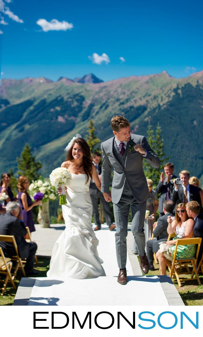 Little Nell Aspen Mountain Wedding Ceremony