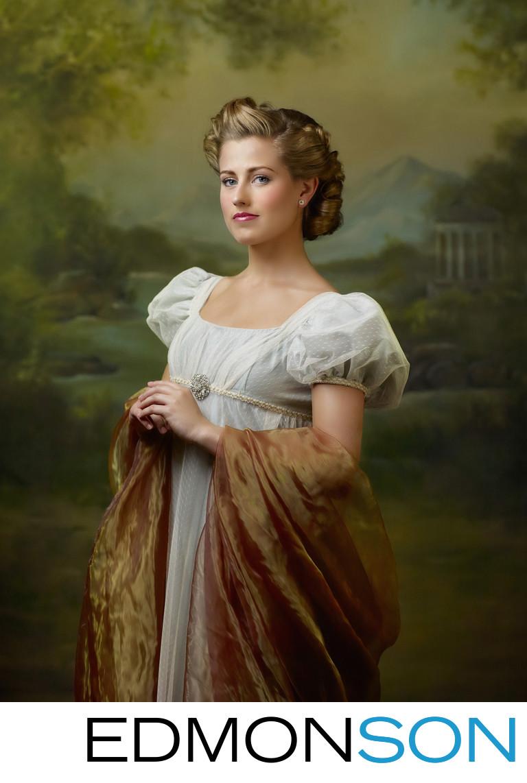 Jane Austen Photo Tribute To Regency Period Women