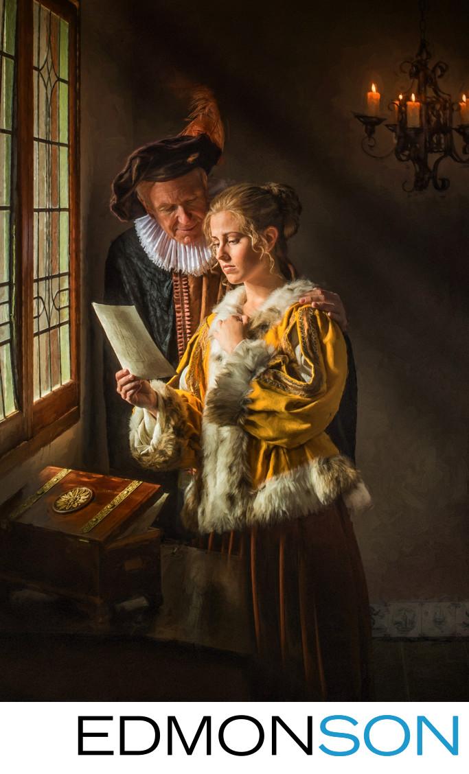 Johannes Vermeer Tribute To Dutch Painters