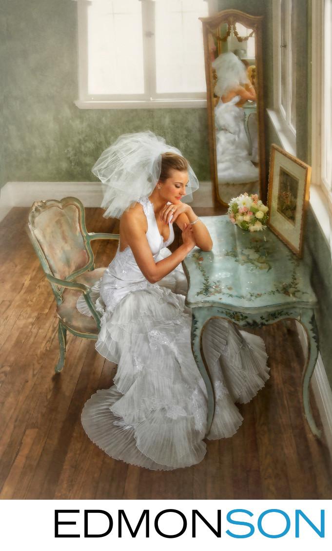 Best Bridal Portrait At Dresser Mansion