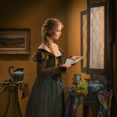 Vermeer Tribute To Dutch Masters By DFW Photographer