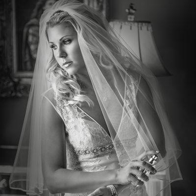 Gorgeous Hotel ZaZa Bride Applies Finishing Perfume