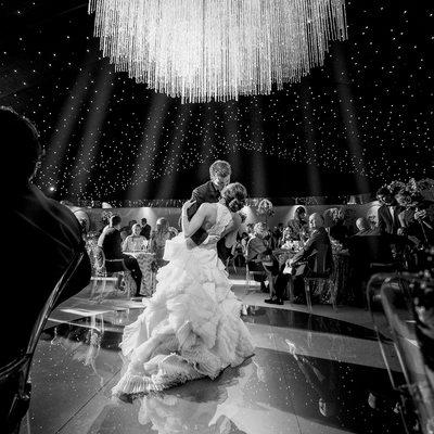 Lavish Wedding Reception First Dance