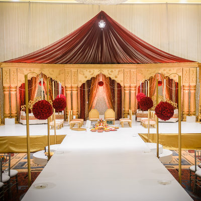 Indian Wedding At Hilton Anatole Wedding Mandap