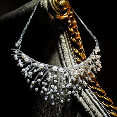 Govindji Diamond & Pearl Necklace