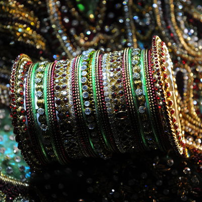 Punjabi Indian Wedding Bangles At Ritz-Carlton Dallas