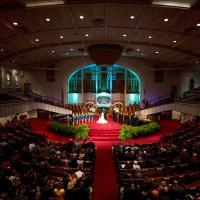 First Baptist Church Weddings Historic Sanctuary